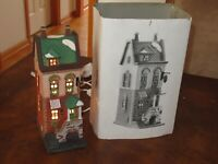 Department Dept 56 Christmas In The City Lighted SPRING ST. COFFEE HOUSE 5880 -7