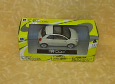 MODELLINO NEW RAY CITY CRUISER FIAT 500 BIANCA  1:43 cod.19802