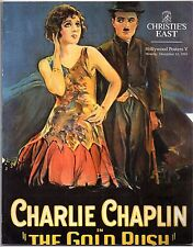 HOLLYWOOD POSTERS V 1993 THE GOLD RUSH - CHARLIE CHAPLIN AUCTION CATALOGUE