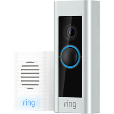 Ring Pro Video Doorbell Kit With Chime