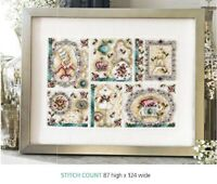 FRENCH  SOPHISTICATION   CROSS STITCH  PATTERN ONLY    EQ - RWP