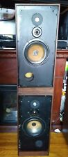 Spendor Sp1 With brand new tweeters &.Consecutive serial numbers