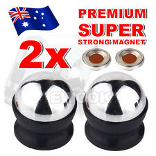 2x Universal Magnetic Ball Magnet Car Holder Mount for GPS iPhone 6 7 Samsung