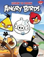Learn to Draw Angry Birds: Learn to draw all of your favorite Angry Birds and T