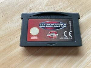 Shaun Palmers Pro Snowboarder Gameboy Advance Game! Cart Only! Look In The Shop