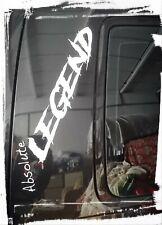 """""""Absolute LEGEND """" WINDSCREEN PANEL STICKER DECAL SUIT VW T5 T4 T25 T2 T5 GOLF"""