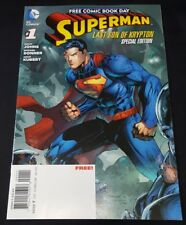 SUPERMAN LAST SON OF KRYPTON # 1 NM JIM LEE COVER FREE COMIC BOOK DAY AUCTION!!