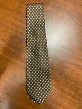 Attore Brown Silk Hand Made Silk 4in Wide Tie - Rare Find