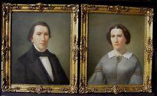 Peter Roth 1830 - Köln / Biedermeier Portraits der Stollwerck - Familie / 1859