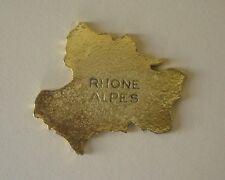 Fève en métal des années 90 - La France : Rhône Alpes
