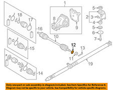 MITSUBISHI OEM 03-13 Outlander Drive-Front Suspension-Axle Assy Washer MB109025