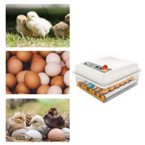 16 Eggs Incubator Automatic Turner Hatcher Chicken Duck Egg Temperature Control