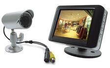 Kit di videosorveglianza filare con monitor 3,5'' cod 123041 RICONDIZIONATO