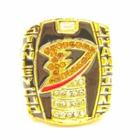 2007 Anaheim Ducks Selanne Stanley Cup 18k GP Brass Championship Ring & Wood Box
