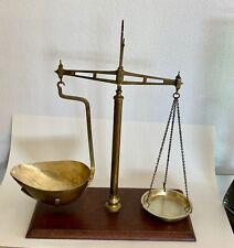 W & T Avery, Birmingham, Brass Balance Beam Scale