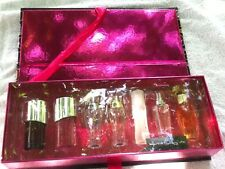 NIB Victoria's Secret Set 7 Piece Eau De Parfum MINI Perfume .25 oz Sexy For Her
