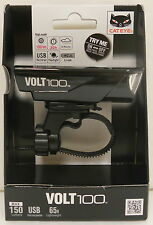 CATEYE VOLT 100 USB RECHARGEABLE LED FRONT CYCLE BIKE LIGHT