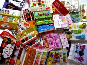 10 packs of Bento Decoration Food picks for kids original random assort set