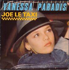 VANESSA PARADIS JOE LE TAXI 45T SP 1987 POLYDOR 885.765 DISQUE quasi NEUF