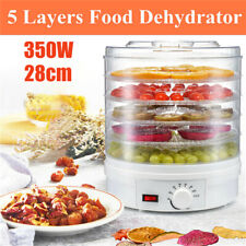 30W Electric Food Dehydrator Drying Machine Fruit beef Jerky Preserve