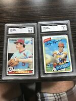 Mike Phillips 1979 Topps 258, Craig Reynolds 1980 Topps 129, GMA 6.5 Ex-NM+