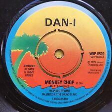 Dan-I - Monkey Chop / Roller (Do It) Boogie - Island WIP-6520 Ex Condition