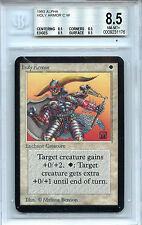MTG Alpha Holy Armor Magic the Gathering WOTC BGS 8.5 NM/MT+ Quad Card 1176
