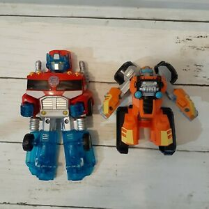 Lot of 2 Transformers Toys Playschool