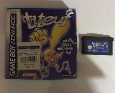 Jeu NINTENDO Game Boy Titeuf Ze Gag Machine avec Boîte