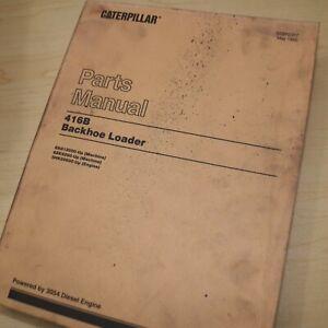 CAT Caterpillar 416B Backhoe Loader Parts Manual Book catalog spare 1995 LIST