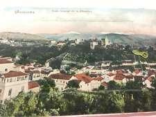Granada Spain General View Souvenir Foldout Antique Postcard K31977