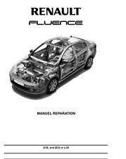 Manuel Atelier Entretien Réparation Technique Maintenance Renault Fluence - Fr