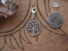 Tree Of Life Goddess Celtic Wicca Witch Clip On Bracelet Embelishment Decoration