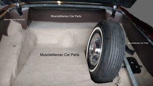 1956 Cadillac Coupe DeVille Trunk Side Panels 5 Piece Set 56