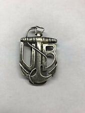 WWI WW1 Austrian Austro-Hungarian U Boat Boot Badge Silver Veteran's Replacement