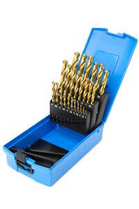 Presto 09565M25 1.0-13mm Tin (ELITE PLUS) HSS Drill Set