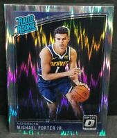 Michael Porter jr. 2018-19 Optic Shock Rated Rookie RC
