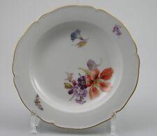 Według marki i pochodzenia Wahl Ø 19cm KPM Berlin Teller Blume Wasserblume Silberrand 1 Porcelana i ceramika