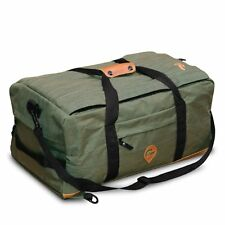 Vatra Skunk Hybrid Backpack/Duffle Green/leather - Smell Proof - Water Proof