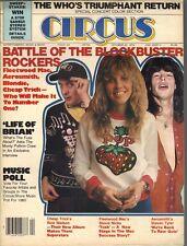 STEVIE NICKS RICK NIELSEN STEVEN TYLER Circus Magazine 10/30/79 ROCKERS