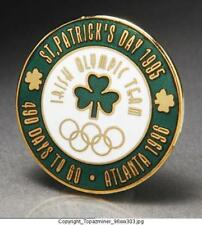 Olympic Pin 1996 Atlanta St. Patricks Day 1995 Shamrock