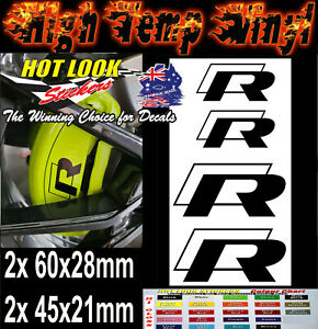 4x Golf MK6 MK7 MK7.5 Premium Brake Caliper Stickers Decals Motorsport Rally