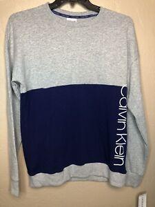 calvin klein Lounge Shirt. Size M. Color Blue/gray