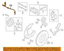FORD OEM 2015 Mustang ABS Anti-lock Brakes-Rear Speed Sensor FR3Z2C190B