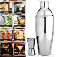 Bartender Cocktail Shaker Set -Professional Drink Maker Mixer &Measuring Jigger