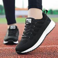 Women Shoes Casual Breathable Walking Mesh Flat Sneakers Gym Vulcanized Tenis Fe