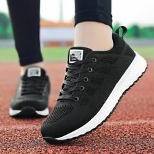 Women Shoes Casual Breathable Walking Mesh Flat Sneakers Gym Vulcanized Tenis Fe
