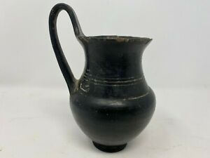 CIRCA 500BC ANCIENT GREEK TERRACOTTA OINOCHOE EX-MUSEUM COLLECTION VIA NYC STORE