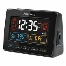 AcuRite Black Atomic Clock w Dual Alarm