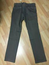 NWT Mens Armani Collezoini Ultra SOFT Chino Jeans Grey Slim W36 L34 H7.5 RRP£175